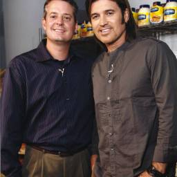 Jamey Fish & Billy Ray Cyrus @ Hellmann's Launch Event NYC