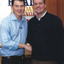 Jamey Fish & Bobby Flay @ Hellmann's Launch Event