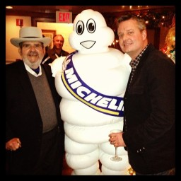 Jamey Fish & Chef Paul Prudhomme @ NOLA restaurant